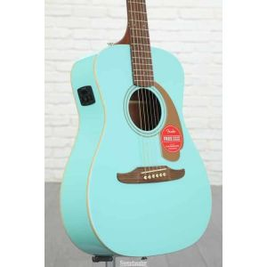 Fender Chitarra Acustica Malibu Player Aqua Splash