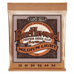 Ernie Ball 2146 Earthwood Phosphor Bronze 12-54 Acoustic